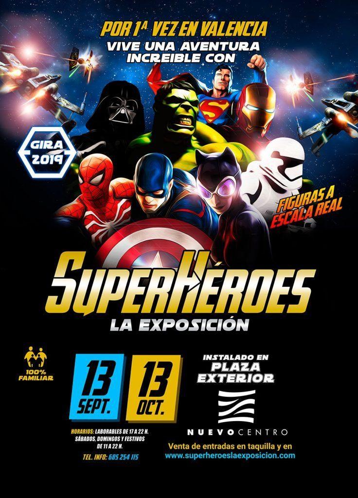 Exposición de superhéroes