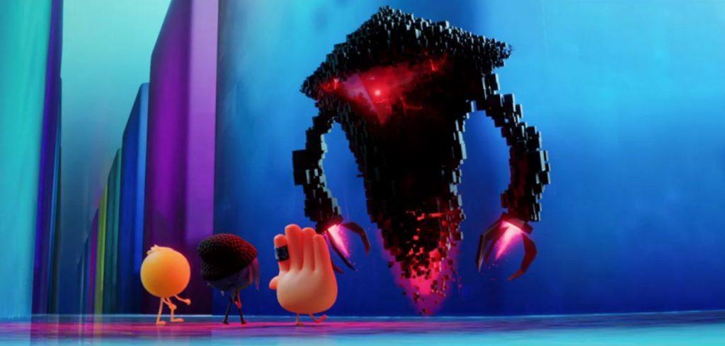 Emoji la película perseguidos por el robot