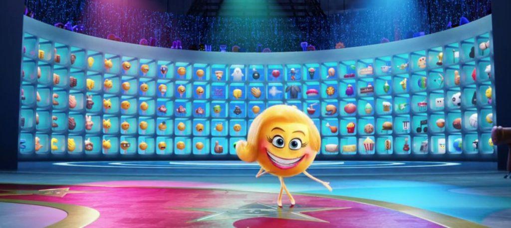 Emoji la película, supervisora Sonrisas