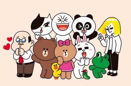 Personajes Line