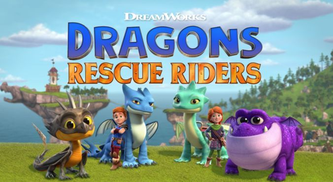 Serie Dragones al rescate