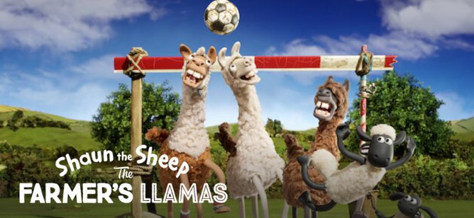 Shaun the Sheep The Farmer's Llamas